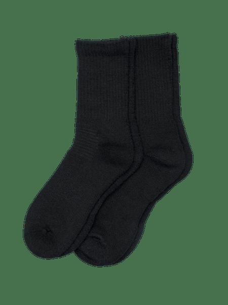 Wool Sock Extra 2-p Svart