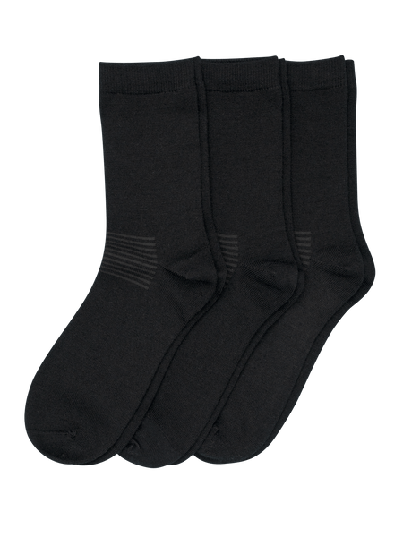 Wool Sock Everyday 3-p Svart