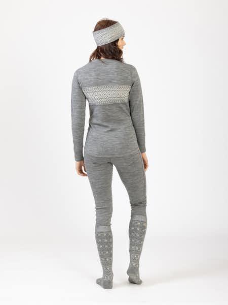 Merino Wool Set Women Harmaamelange