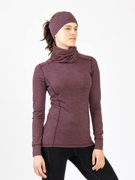Merino Super Soft Sweater Women Suklaanpunainen