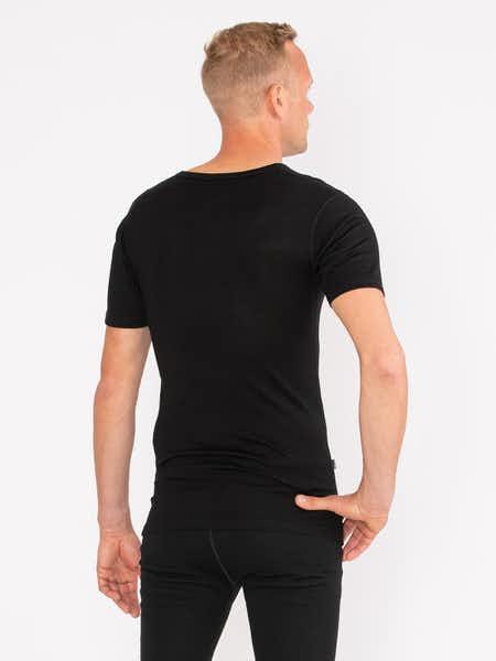 Merino T-shirt Men Musta