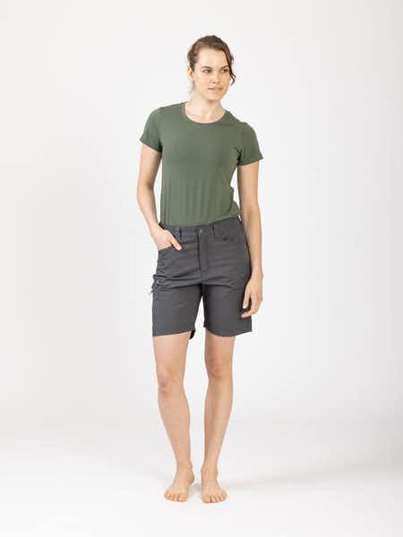 Outdoor Shorts Women Mörkgrå