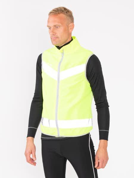 Reflective Wind Vest Neongul