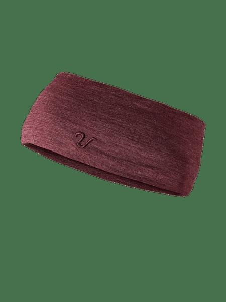 Merino Wool Headband Chokladröd