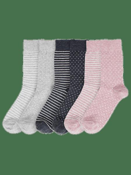 Mix Socks 6-p Rosa/Blå