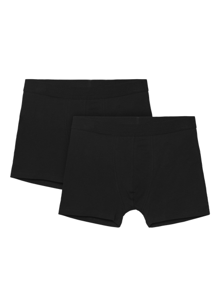 Basic Boxer 2-p Svart