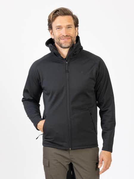 Soft Shell Jacket Men Svart